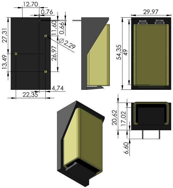 BAT-HOLDER-MPD-BH9VPC-Panasonic-6LR61XWA