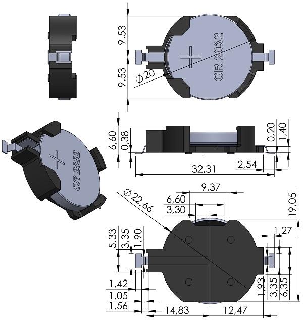 BAT-HOLDER-TE-796136-1-BAT-CR2032-SM