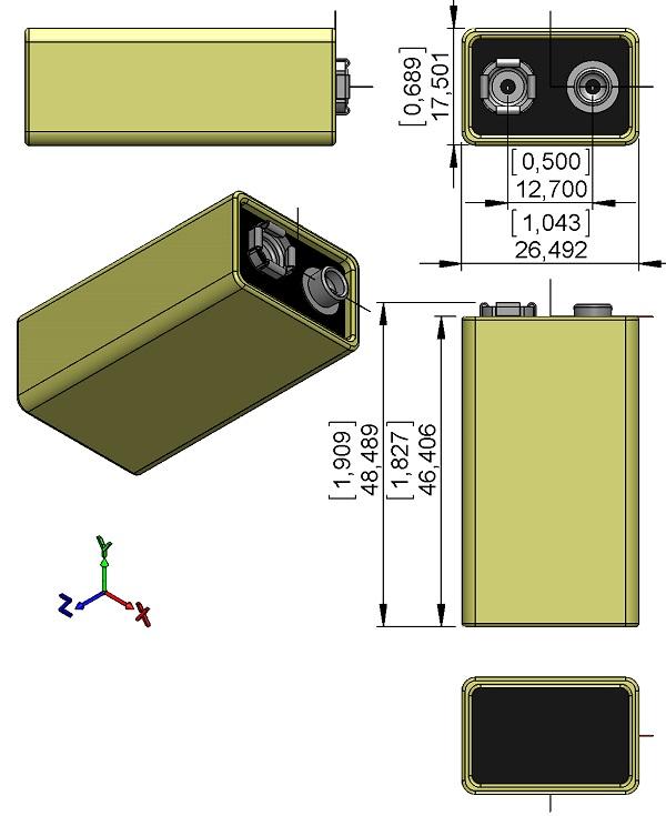 BAT-Panasonic-6LR61XWA-9V