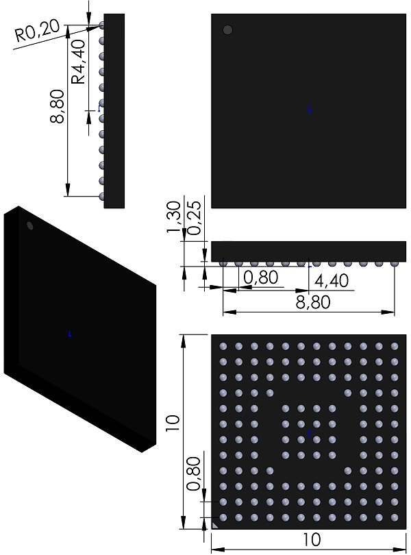 BGA128C80P12X12-1000X1000X130-JEDEC-MO-205-Innovasic-BGA128-FIDO21