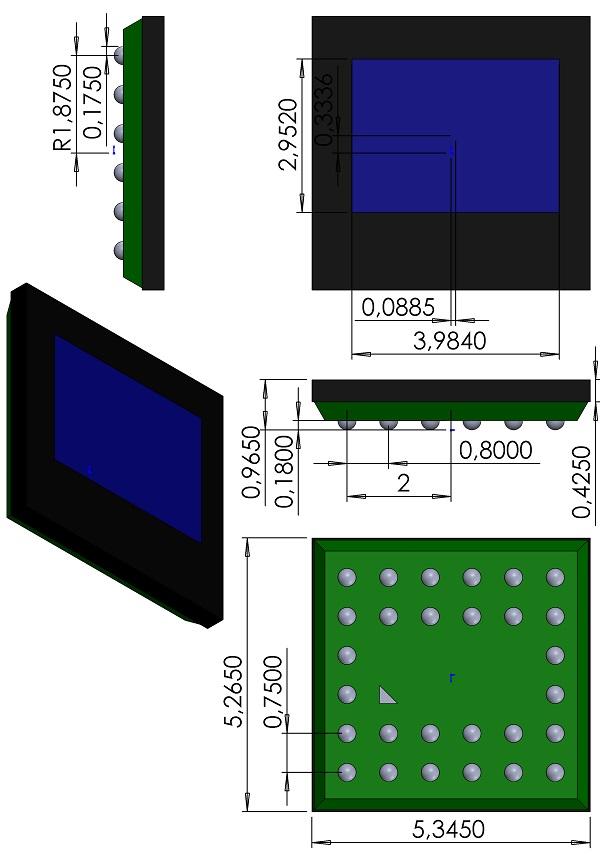 BGA28C80X75P6X6-535X527X97-OmniVision-28-pin-OV7725-CSP2