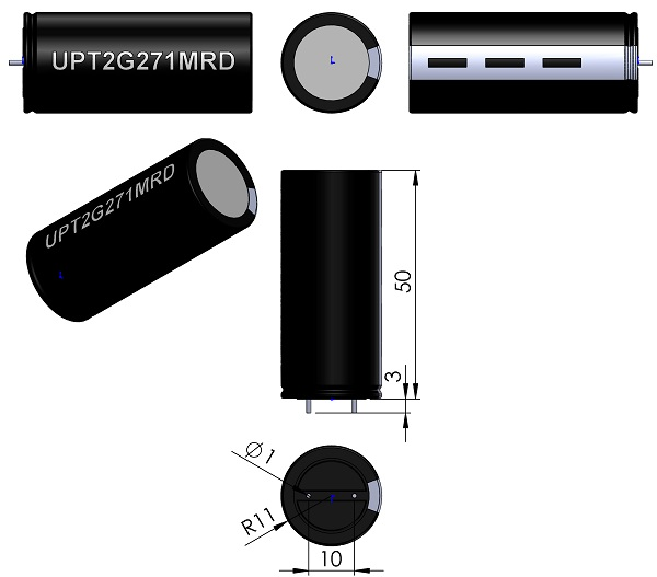 CAPPRD1000W100D2200H5000-V-000-300-Nichicon-UPT-Series-wm