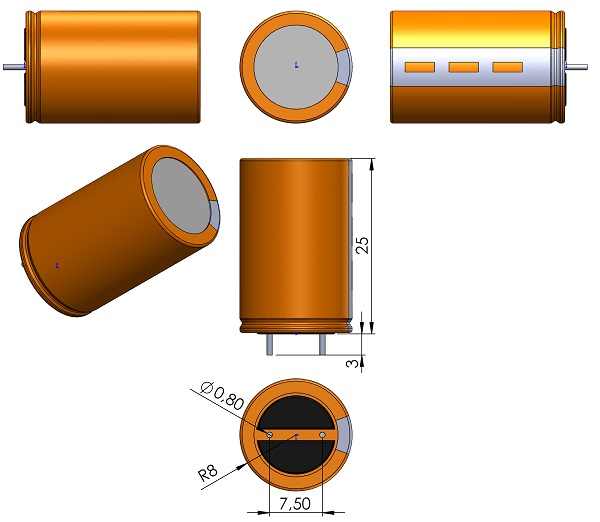 CAPPRD750W80D1600H2500-V-000-300-Illinois-Capacitor-KXM-Series