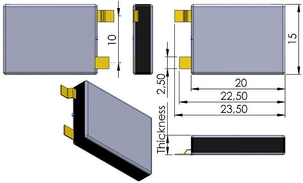 CAP-AVX-BZ15-Series-Single-N-Lead-BH-Option-BestCap-Thickness-42