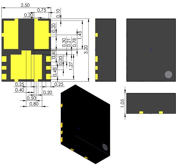DFN250X320X105-9-Torex-USP-9B01