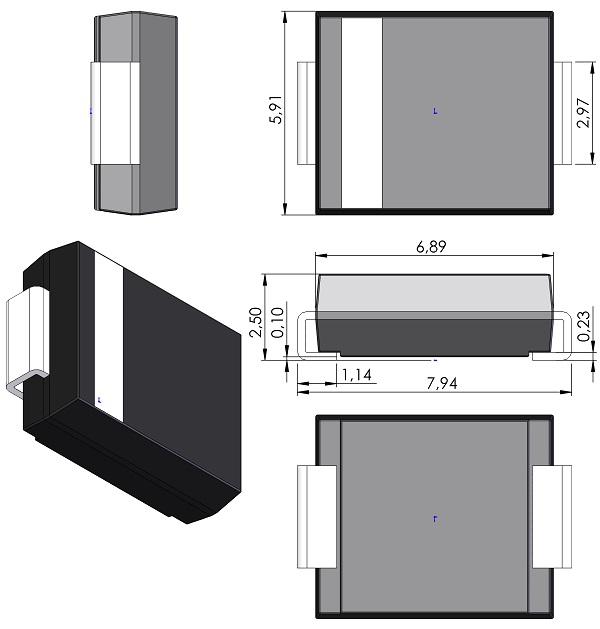 DIOM7959X250-JEDEC-DO-214AB-Diodes-Inc-SMC