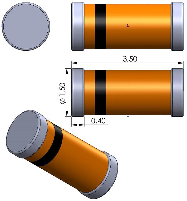 DIOMELF3515-40-Vishay-MiniMELF-SOD-8