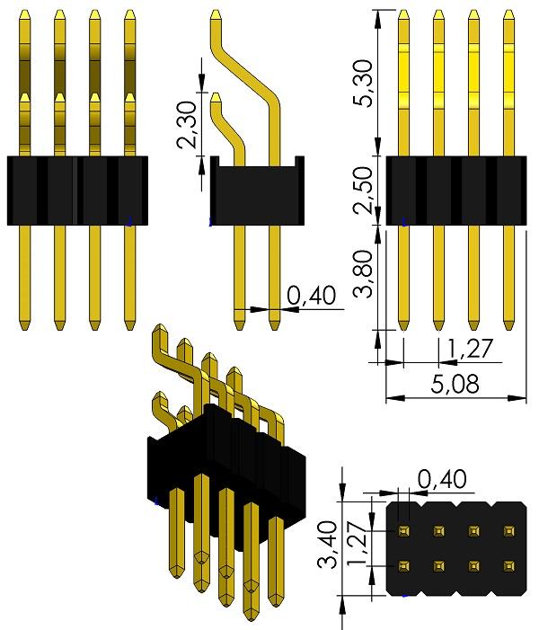 FCI-20021122-000XXXXLF-HDRRA-2Rows-1-27mmP-SM
