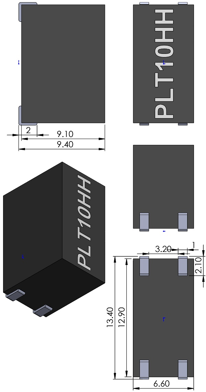 Filters-muRata-PLT10HH-Series-N-Package-Common-Mode-Choke-Coil-wm
