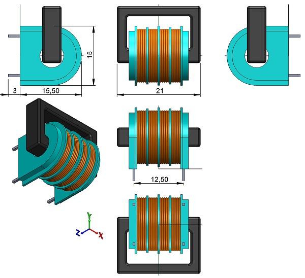 Filters-EPCOS-B8273H-Series-Power-Line-Choke