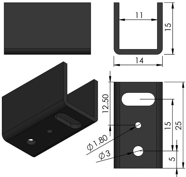 HEATSINK-Assmann-WSW-components-V5074B-T-dwg-ASS-0421-HS-ver02