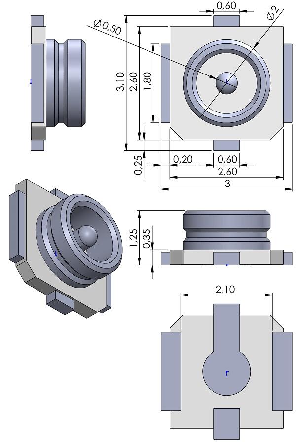 I-PEX-20441-001E-01-MHF-II-RF-Coaxial-JACK