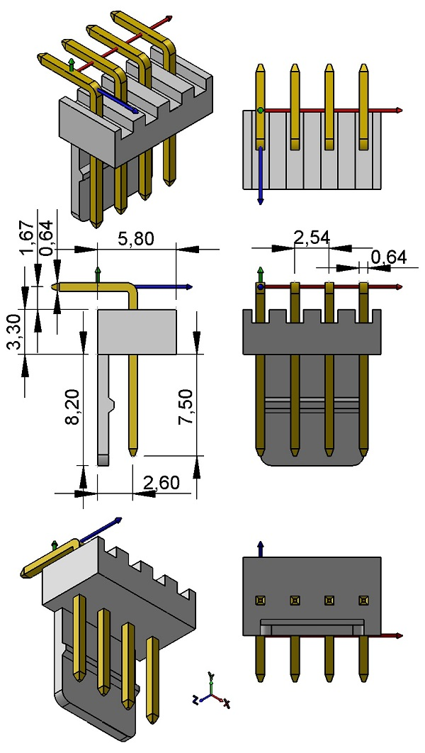 MULTICOMP-2217R-04-WH2-HDR-KK-RA