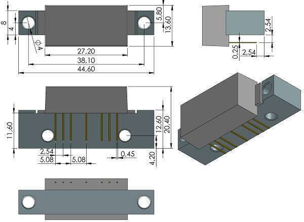 Modules-rfmd-SOT-115J-RFPD3220-GaAs-GaN-Power-Doubler-Hybrid-45MHz-1218MHz-CATV