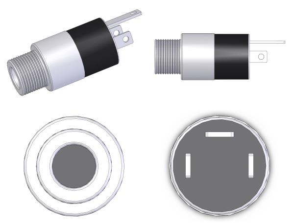 Pro-SIGNAL-MJ-074N-Panel-Socket-3.5mm-3-Pole-Jack