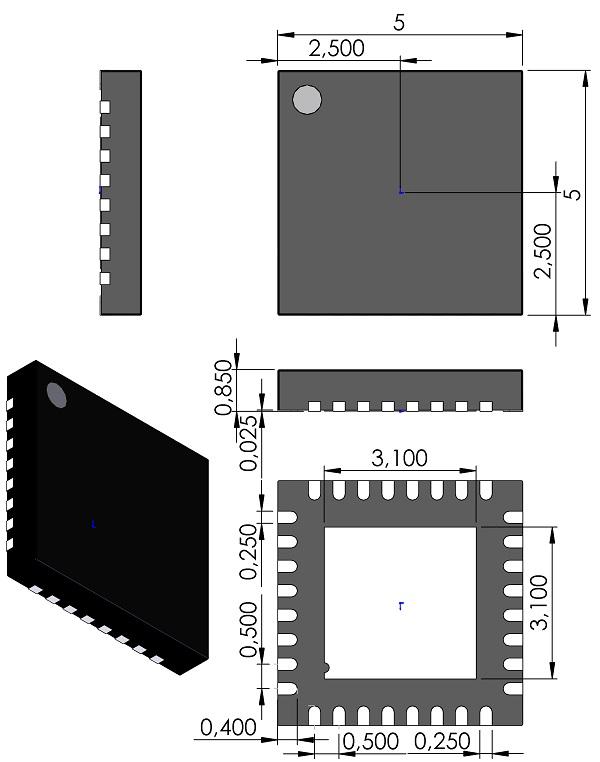 QFN50P500X500X85-32-JEDEC-MO-220VHHD-2-Microchip-32-Lead-QFN-5x5mm