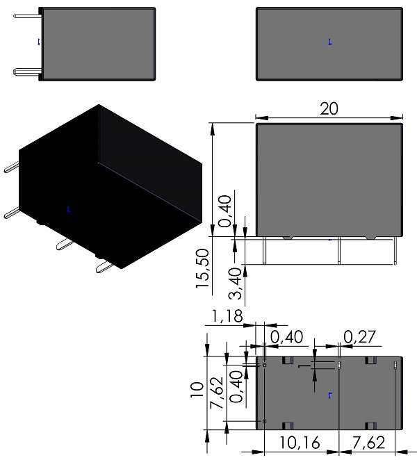 RELAY-OMRON-G5Q-1A-Series