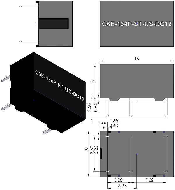 RELAY-OMRON-G6E-134P-ST-Series-Single-side-stable-Standard-coil-wm