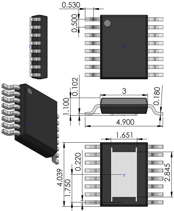 SOP50P490X110-16-Linear-MSE-Package-16-Lead-Plastic-MSOP-Exposed-Die-Pad-dwg-05-08-1667-Rev-F