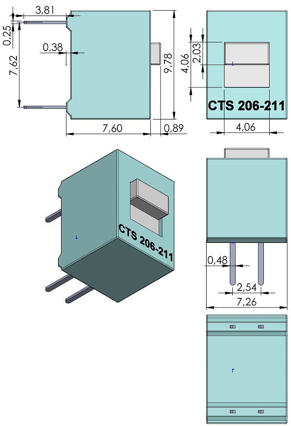 SW-CTS-206-211-206-211ST-DIP-Switch-2-54mmP-TH