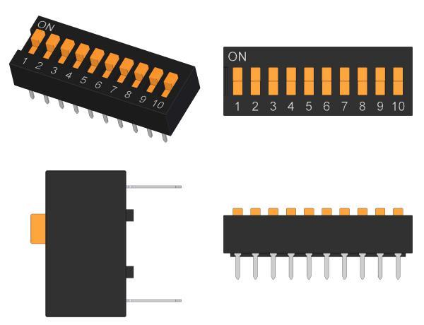 SW-OMRON-A6E-A6ER-Series-DIP-Slide-Type