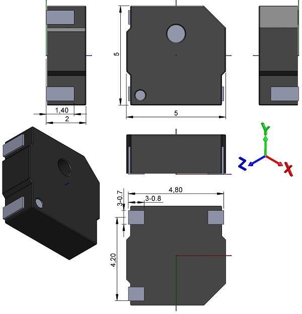 Transducer-BeStar-Electronics-Industry-SMT5050-03H02-LF-Electro-Magnet