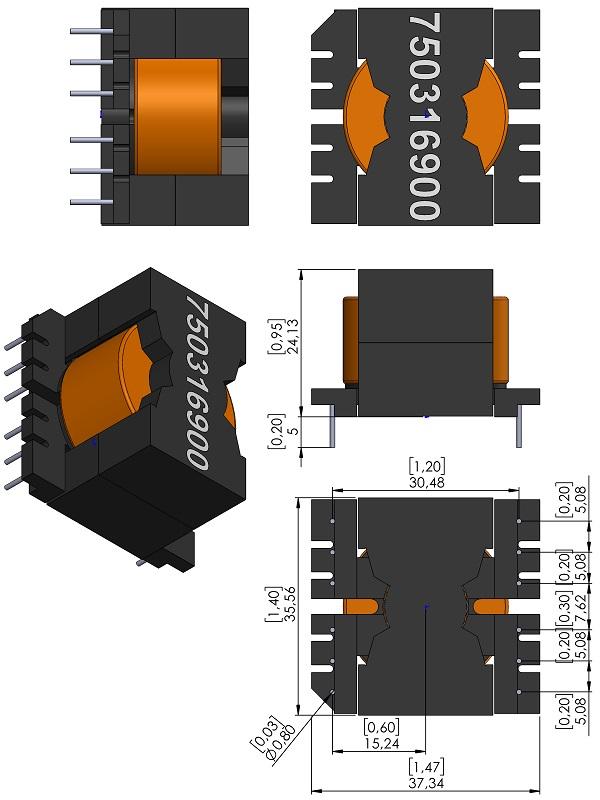 Transformer-Wurth-750316900-TH-V-wm