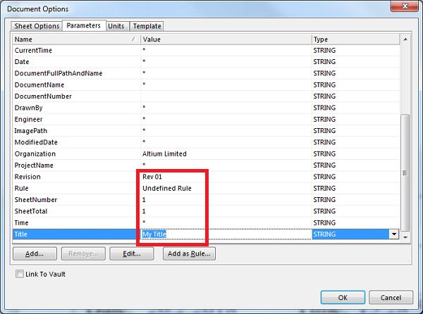 Create a custom Altium schematic template - PCB 3D