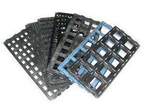 tray_package_of_electronic_components
