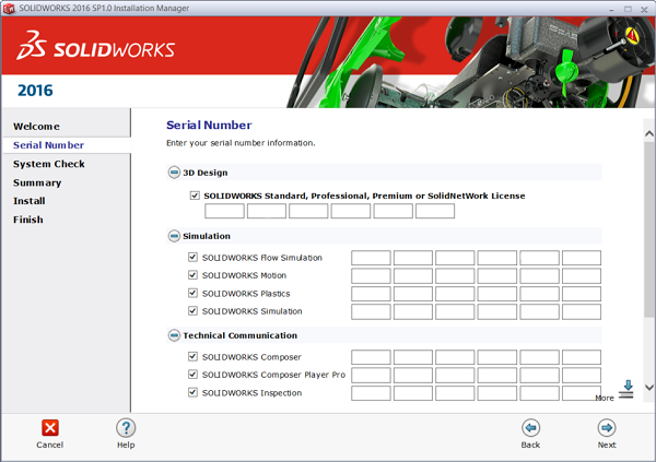 Free Download, Install and License SOLIDWORKS 2019, 2018, 2017, 2016